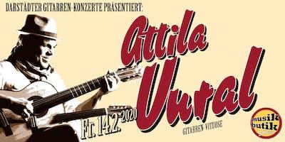 Attila Vural (Gitarren-Virtuose) - Darstädter Gitarren-Konzerte