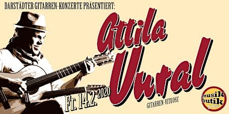 Attila Vural (Gitarren-Virtuose) - Darstädter Gitarren-Konzerte Tickets