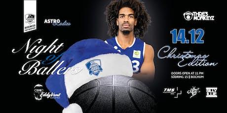 Night of Ballers - Die große VfL Weihnachtsparty 2019 Tickets