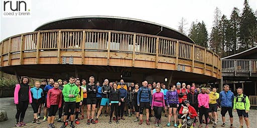 Run. Coed y Brenin Christmas Social Half and Goldrush 2019