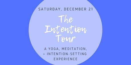 The Intention Tour: DMV tickets