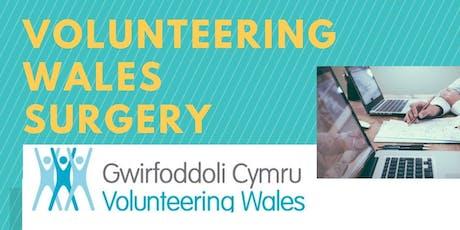 Volunteering Wales Surgery (WREXHAM) - 27th JANUARY 2020 tickets
