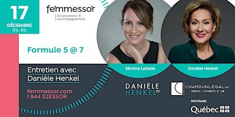 Formule 5@7 | Entretien intime avec Danièle Henkel | Laval billets