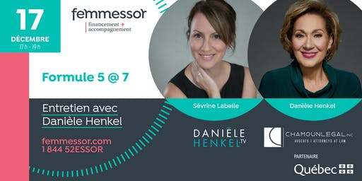 Formule 5@7 | Entretien intime avec Danièle Henkel | Laval
