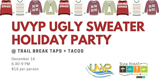 UVYP Ugly Sweater Holiday Party