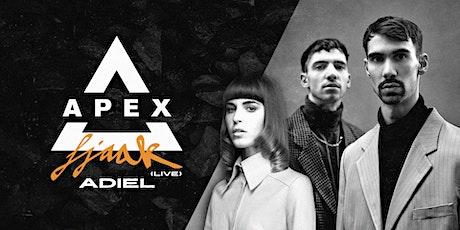 Apex Presents: FJAAK (Live )   Adiel tickets