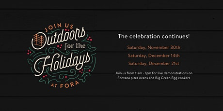 Outdoors for the Holidays tickets