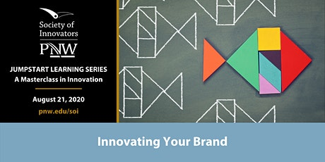 Jumpstart Innovation Masterclass Series #4: Innovating Your Brand tickets