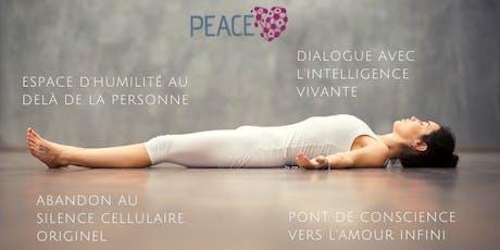 Atelier PEACE - santé, amour et vie en conscience billets