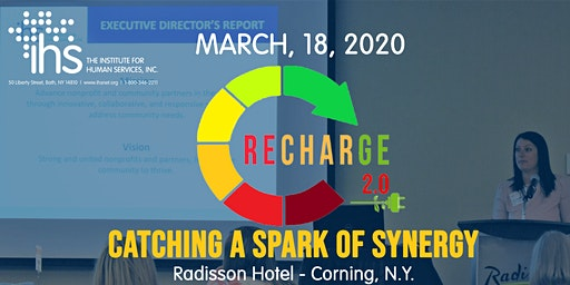 Recharge 2.0 - IHS Annual Conference