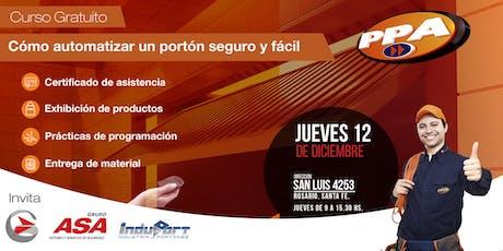 Cómo armar y automatizar un portón  fácil y seguro / Rosario 12/12 tickets