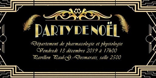 Party de Noël du Département de pharmacologie et physiologie