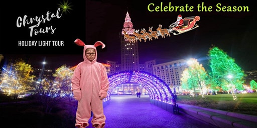 Family Friendly Holiday Light Limo Coach Tour - Cleveland