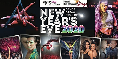 NEW YEARS EVE 2020 : DANCE. DREAM. INDULGE. @ Concord Stage tickets