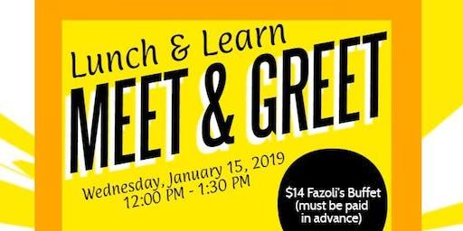 Lunch & Learn Workshop: Meet & Greet