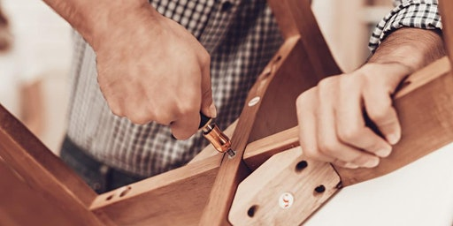 Woodworking Repair Session