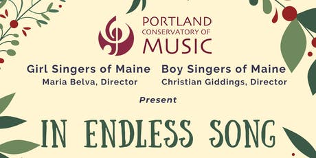 In Endless Song: A Choral Concert to Celebrate the Season of Light tickets