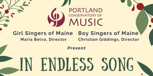 In Endless Song: A Choral Concert to Celebrate the Season of Light