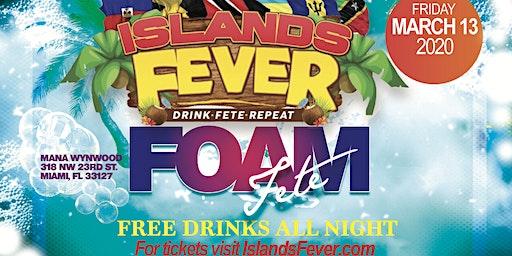 ISLANDSFEVER MARCH 13 SPRING BREAK MIAMI FREE DRINKS ALL NIGHT