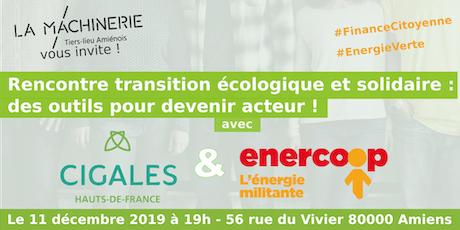 Rencontre de la  transition écologique et solidaire billets