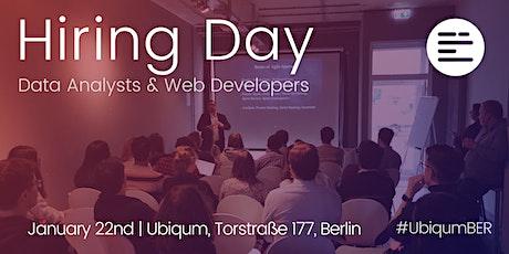 Ubiqum Code Academy Berlin: Januarys Hiring Day for Ubiqum graduates tickets
