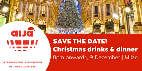 AIJA Christmas Drinks & Dinner - Milan edition biglietti