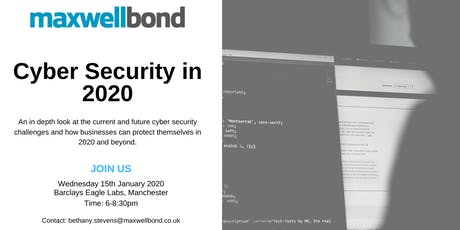 Cyber Security in 2020 tickets