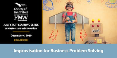 Jumpstart Innovation Masterclass Series #6: Improv for Problem Solving