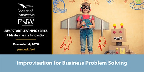 Jumpstart Innovation Masterclass Series #6: Improv for Problem Solving tickets