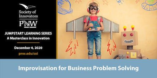 Jumpstart Innovation Masterclass Series #6: Improv for Problem Solving
