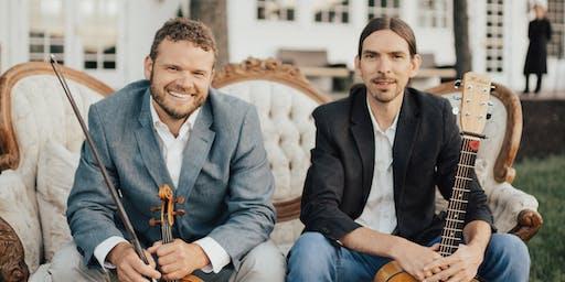 Traditional Irish Music Concert with Adam Agee & Jon Sousa