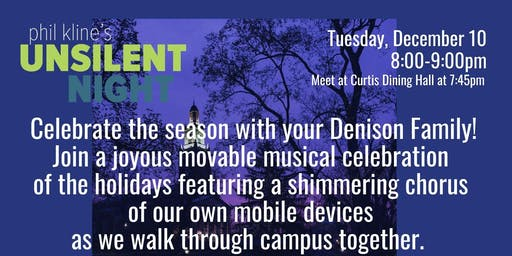 Denison's  2nd Annual 'Unsilent Night,' A Chime-filled Walk Through Campus