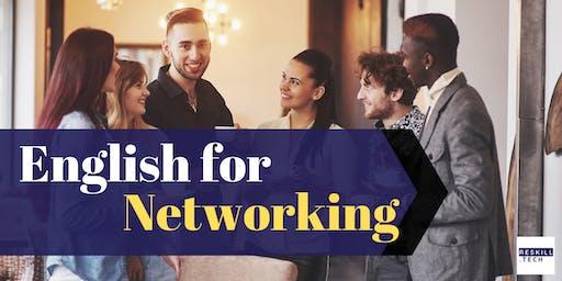 English for Networking | ภาษาอังกฤษสำหรับสร้างคอนเนคชั่น