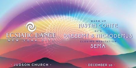 Ecstatic Dance :: A FAMILY AFFAIR :: Last Dance of 2019 tickets