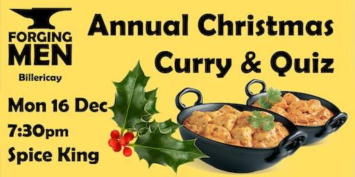 Forging Men - Christmas Curry & Quiz
