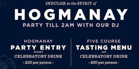 Hogmanay Hoot at The Spiritualist tickets