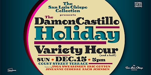 Damon Castillo Holiday Variety Show