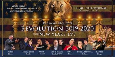 REVOLUTION 2019-2020! Thru New Years Eve, Trump Int'l DC