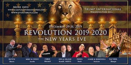 REVOLUTION 2019-2020! Thru New Years Eve, Trump Int'l DC tickets