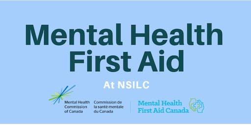 Mental Health First Aid Training (Basic)