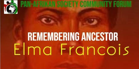 Remembering Ancestor Elma Francois tickets