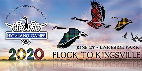 Kingsville Highland Games 2020 tickets