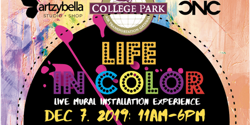Life in Color 2019- Live Mural Installation Experience