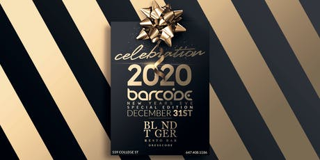 """Barcode Special Edition NYE 2020 """"CELEBRATION"""" tickets"""