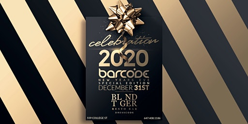 "Barcode Special Edition NYE 2020 ""CELEBRATION"""
