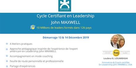 Cycle Certifiant en Leadership John MAXWELL billets