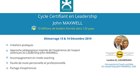 Cycle Certifiant en Leadership John MAXWELL billets