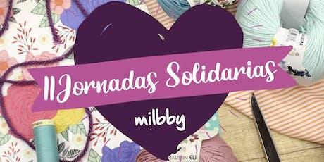 II Jornadas Solidarias Milbby Zaragoza entradas