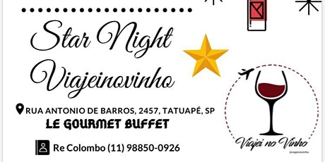 Star Night Viajeinovinho ingressos