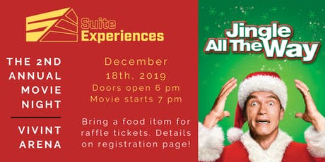Suite Experiences 2nd Annual Movie Night @ Vivint Arena tickets
